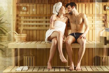 Freizeitaktivitäten für Paare   Sauna-Besuch