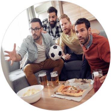 Freizeitaktivitäten für Männer