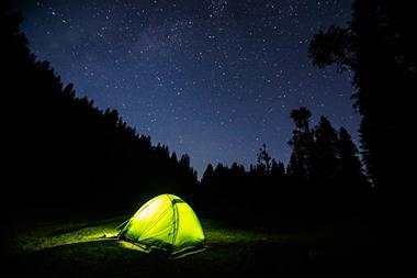 Freizeitaktivitäten für Paare   Im Zelt übernachten