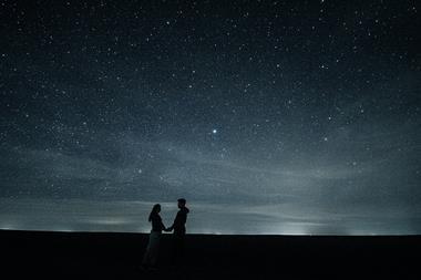 Freizeitaktivitäten für Paare   Sternenhimmel anschauen