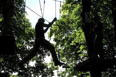 Freizeitaktivitäten | Kletterpark besuchen